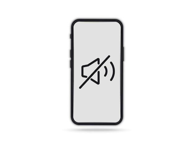 Telefon zabronić znak. ikona urządzenia. brak telefonu komórkowego. brak znaku dźwiękowego dla telefonu komórkowego. wyłącz głośność lub znak trybu wyciszenia dla smartfona. proszę wyciszyć telefon komórkowy, strefę ciszy smartfona