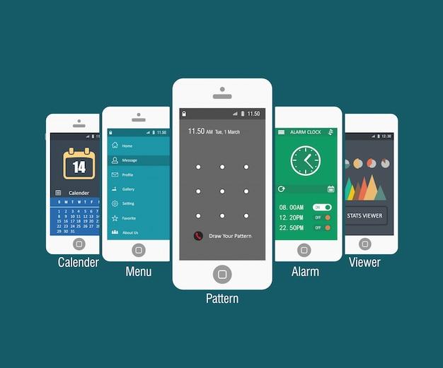 Telefony komórkowe szablony