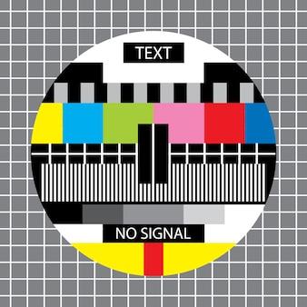Telewizor bez monoskopu sygnałowego