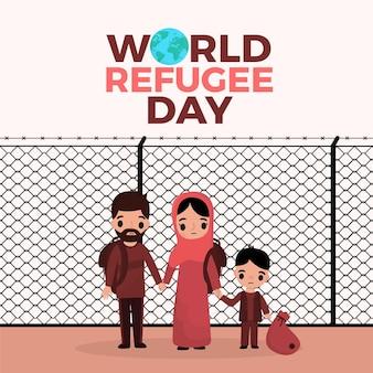 Temat światowego dnia uchodźcy