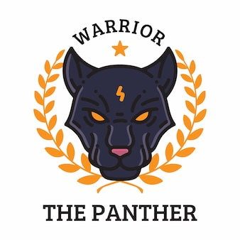 The panther warrior