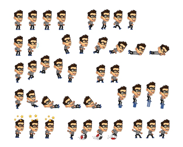 Threat game character sprite
