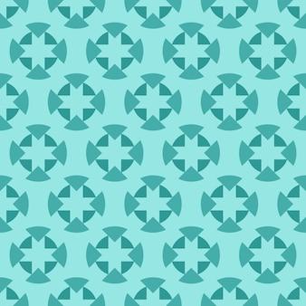 Tiffany, jade i morze piany ozdobnych wirowa tle
