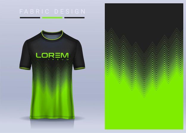 Tkanina na t-shirt sport, koszulka piłkarska dla klubu piłkarskiego. jednolity widok z przodu.