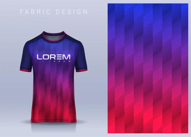 Tkanina tekstylna do koszulki sportowej szablon koszulki piłkarskiej do jednolitego widoku z przodu klubu piłkarskiego