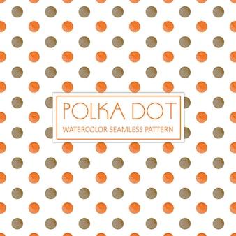 Tła akwarela polka dot