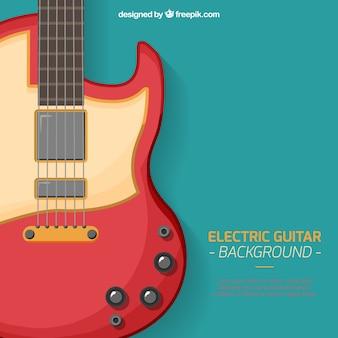 Tła gitara elektryczna