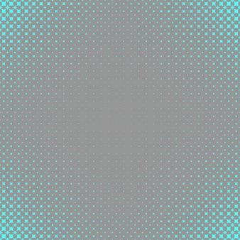Tła wzoru gwiazdy półtonów - grafika wektorowa z zakrzywionymi gwiazdami w różnych rozmiarach