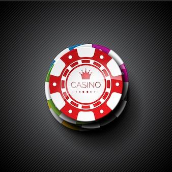 Tła żetonów w kasynie
