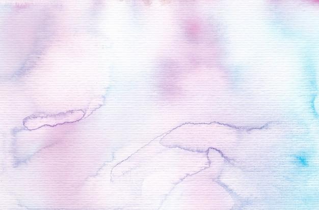 Tle akwarela w delikatnych kolorach