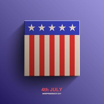 Tło amerykańskiego dnia niepodległości, flaga amerykańska,