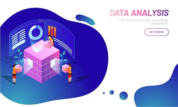 Tło analizy danych.