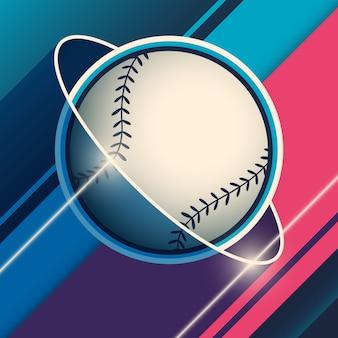 Tło baseballowe