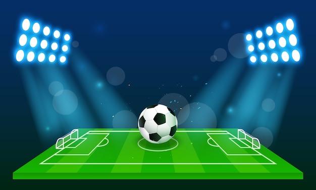 Tło boisko do piłki nożnej