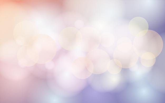 Tło bokeh w pastelowych kolorach