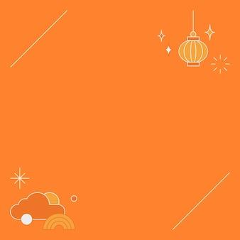 Tło chińskiego festiwalu połowy jesieni