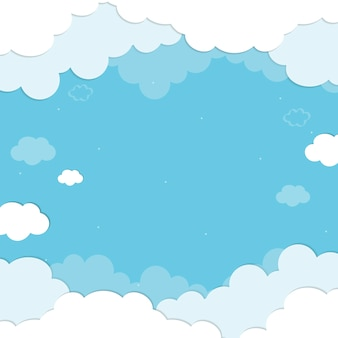 Tło chmur