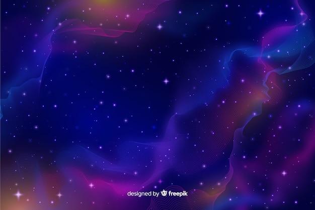 Tło cząstek galaktyki