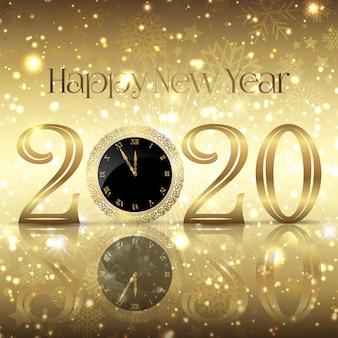 Tło dekoracyjne szczęśliwego nowego roku