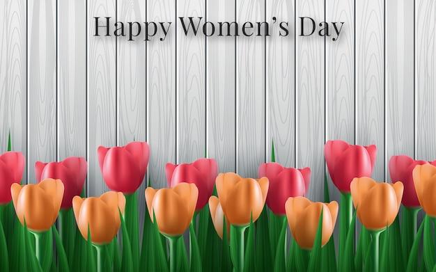 Tło dla międzynarodowego dnia kobiet.