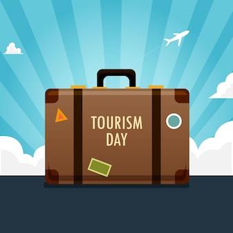 Tło dnia turystyki