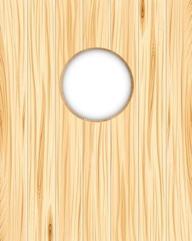 Tło drewniane dziury