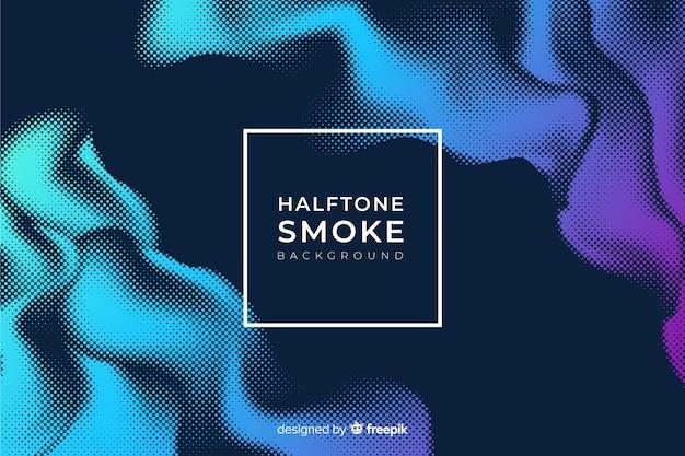 Tło dymu półtonów
