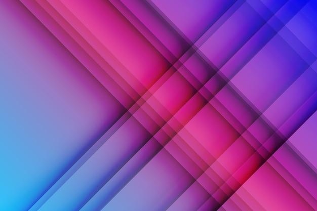 Tło dynamicznych linii w stylu gradientu