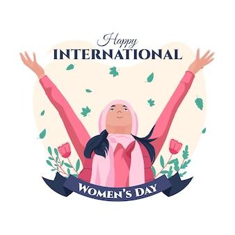 Tło dzień kobiet