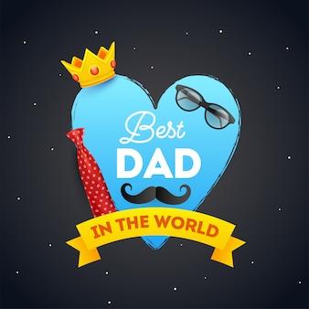 Tło dzień ojca.