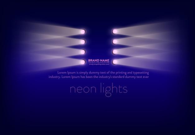 Tło efektów świetlnych