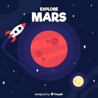 Tło eksploracji marsa