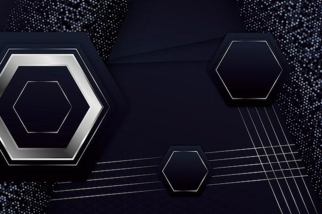 Tło eleganckie kształty geometryczne