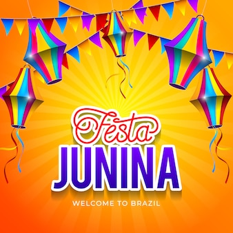 Tło festa junina