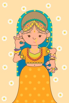 Tło festiwalu bogini lakshmi diwali
