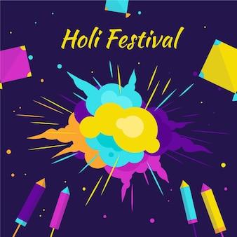 Tło festiwalu holi