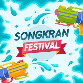 Tło festiwalu songkran