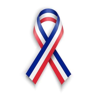 Tło flaga francji