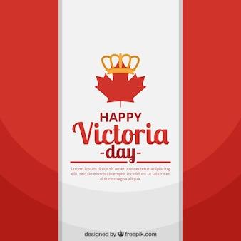 Tło flagi kanadyjskiej na dzień victoria