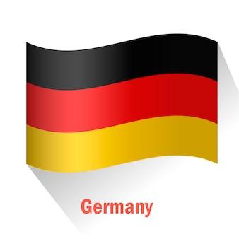 Tło flagi niemiec