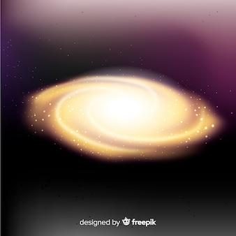 Tło galaktyki spiralnej