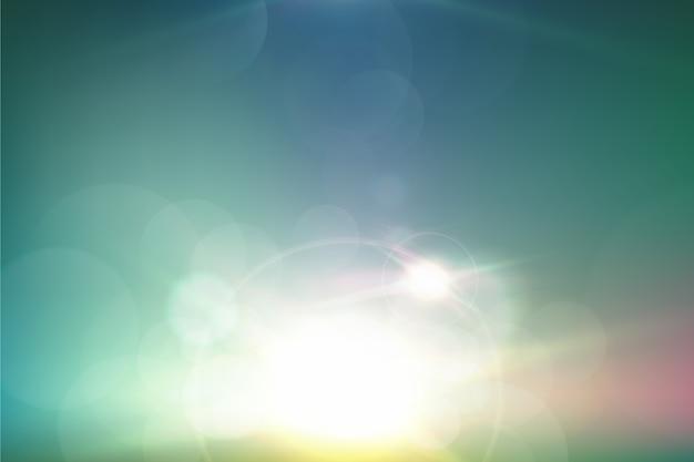 Tło gradientowe efekt bokeh