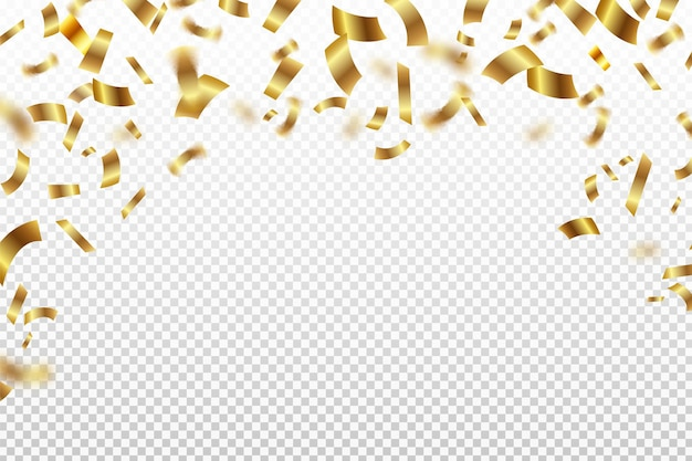 Tło gradientowe konfetti