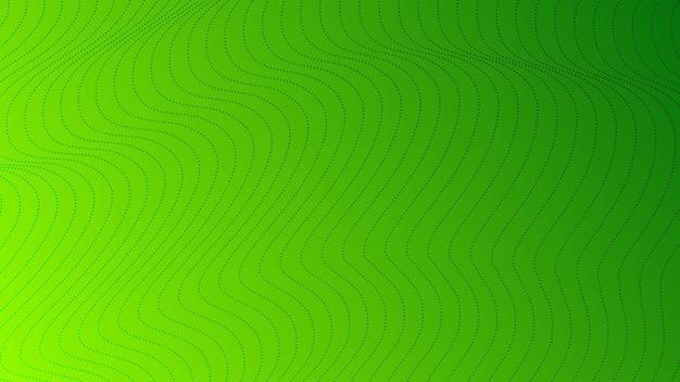 Tło gradientowe półtonów z kropkami. streszczenie zielony kropkowany wzór pop-artu w stylu komiksowym. ilustracja wektorowa