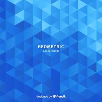 Tło gradientowe trójkąty