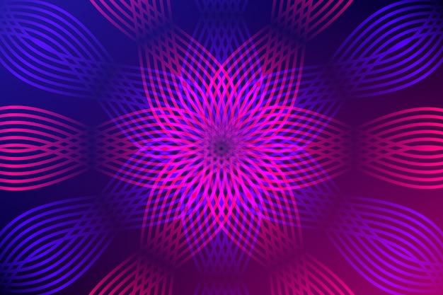 Tło gradientowe złudzenie optyczne