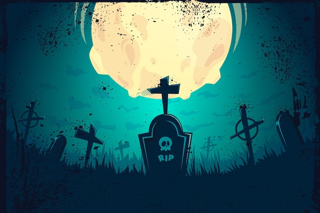 Tło grunge halloween