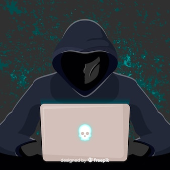 Tło hackera