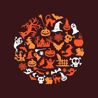 Tło halloween