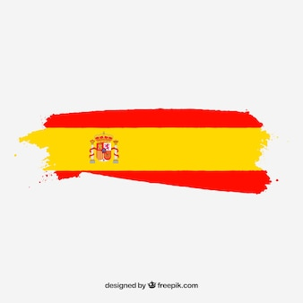 Tło hiszpańskiej flagi